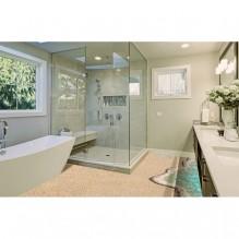 3D декоративна настилка за баня 1-396969259