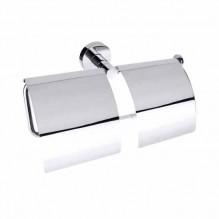 Двоен държач за тоалетна хартия с капак OMEGA 104112092