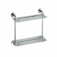 Двойна стъклена полица за баня 104202122