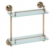 Двойна стъклена полица за баня 144301122 144202128 144102127