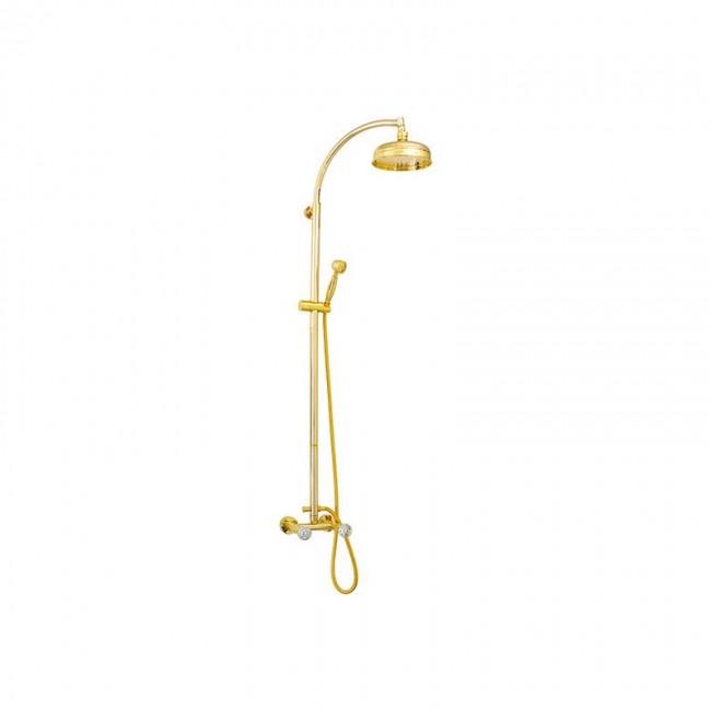 Душ колона за баня в златен месинг CY443689DO