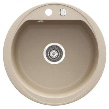 Кръгла гранитна кухненска мивка Bizzy DRG52S