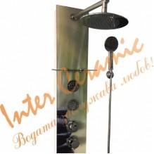 """Стъклен хидромасажен панел """"ЕМОНА"""" ICSH 3684G"""