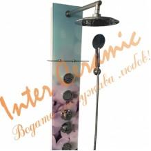 """Стъклен хидромасажен панел """"ЕМОНА"""" ICSH 3684P"""