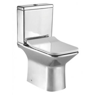 Порцеланов WC комплект ICC 7737 CHROME
