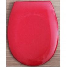 Тоалетна седалка от ДУРОПЛАСТ - червена