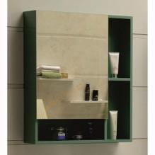 Горен огледален PVC шкаф за баня Green