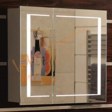 Огледален PVC шкаф за баня ICMC 6015 - 80