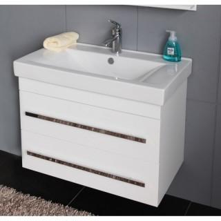 PVC шкаф за баня ICP 8046 WHITE