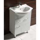 Комплект долен PVC шкаф за баня 6037 КАПРИ