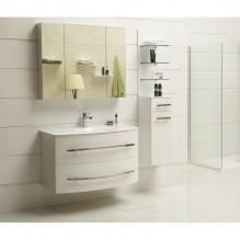 PVC Комплект за баня ICP 105360 Бял