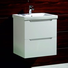 Комплект PVC шкаф за баня ICP 6065W ИНЕС