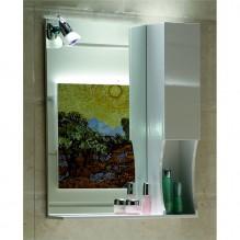 Горен огледален PVC шкаф за баня ICMC 1060 50/1050 50V