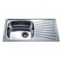 Кухненска мивка алпака ICK 7843 L/R