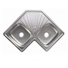 Кухненска мивка алпака - двойна ICK S8383P
