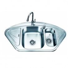 Двойна кухненска мивка от алпака ICK 10255