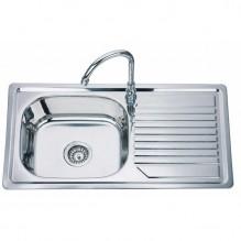 Мивка за кухня от алпака ICK 8244F L/R