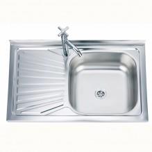 Кухненска мивка алпака - БОРДОВА - ICK 8050A L/R