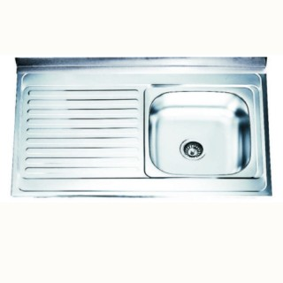 Кухненска мивка алпака - БОРДОВА - ICK 10060А R/L