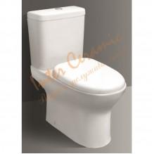 Порцеланов WC комплект за баня ICC 6476