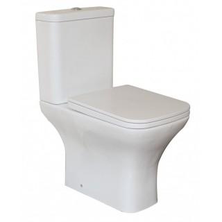 Порцеланов WC комплект за баня ICC 7837UF