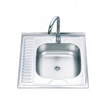 Единична мивка алпака ICK 6060R/L