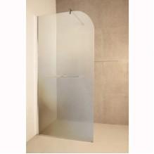 Стъклен стационарен параван за баня ICS 112SG