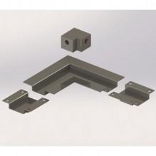 Ултра тънки ъглови съединители за сифон ICD 500002