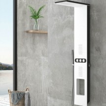 Хидромасажен душ панел за баня BIANCO NERO TOUCH A7118