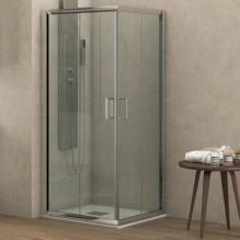 NEW FLORA 100 - квадратна душ кабина за баня