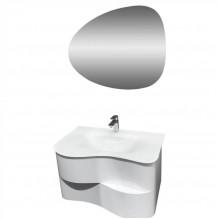 Комплект PVC мебел за баня Сарагоса
