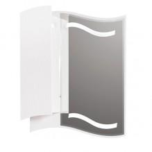 Горен шкаф за баня с LED огледало Чеби