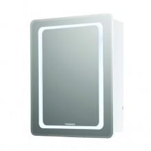Горен PVC шкаф за баня с LED огледало Ивон