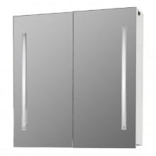 Горен PVC шкаф за баня с LED огледало Астор