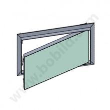 Ревизионна алуминиева клапа с водоустойчив гипскартон 12.5 мм / BB w>h