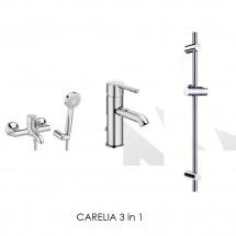 CARELIA 3 in 1 - Промо пакет смесители за баня