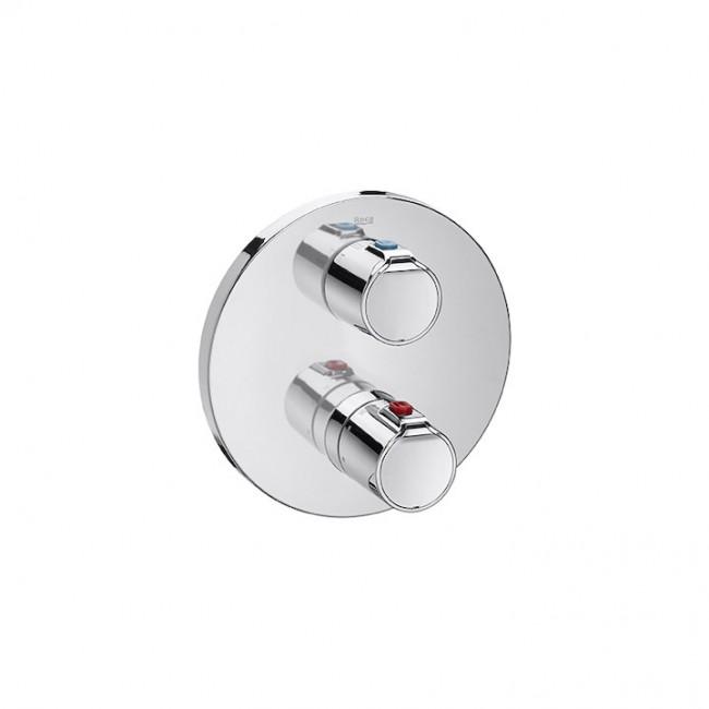 Вграден термостатичен смесител за душ-вана с превключвател