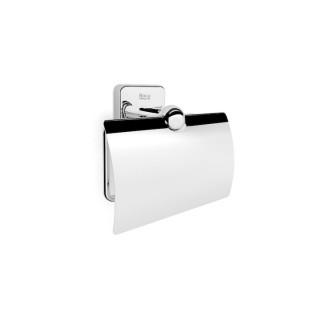 Държач за тоалетна хартия Victoria с капак за монтаж с винтове или със самозалепваща лента 3M