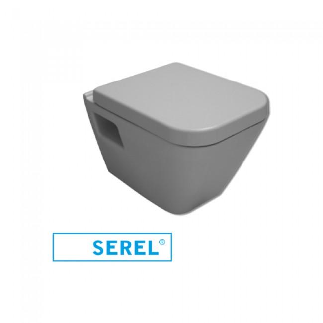 Конзолна тоалетна чиния с бидетна система Diagonal softclose