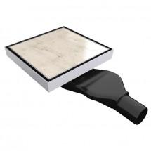 Квадратен сифон с възможност за вграждане на плочка