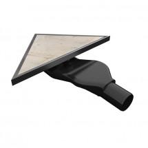 Триъгълен сифон за вграждане на плочка