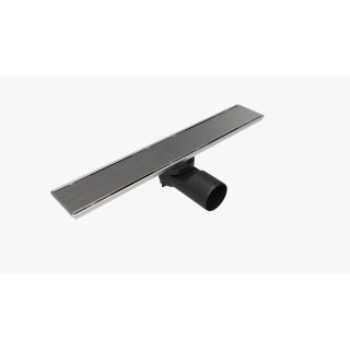 Линеен сифон PDS 40 / 60 см с плътна решетка