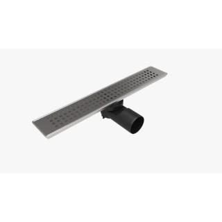 Линеен сифон PDS 40 / 60 см с решетка на квадратчета