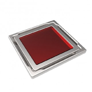 Точков сифон DS-11-CD / червено стъкло