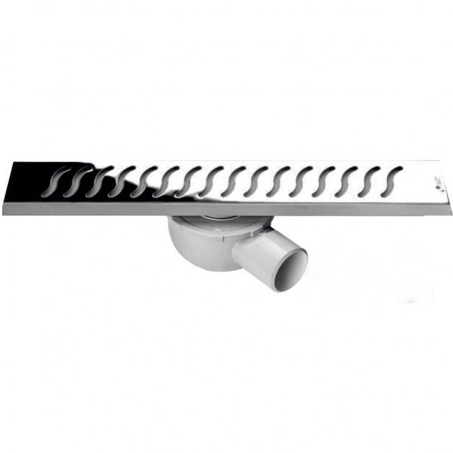 Линеен сифон - Серия MIRA - 40/ 60 см решетка на вълнички