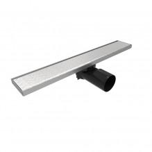 Линеен сифон 40 / 60 см - Серия PB - плътна решетка, клапа против миризми