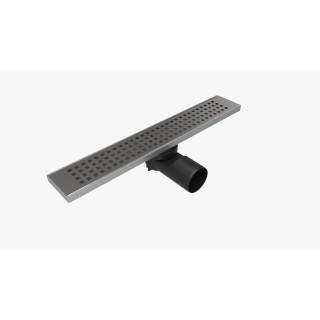 Линеен сифон 40 / 60 см - Серия PB - решетка на квадратчета, клапа против миризми