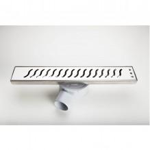 Линеен сифон решетка на вълнички - серия ORKO