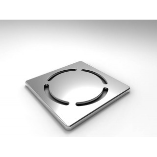 Решетка с кръг 10х10 см
