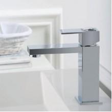 Стоящ смесител за умивалник с кристал Unika 41500/LC